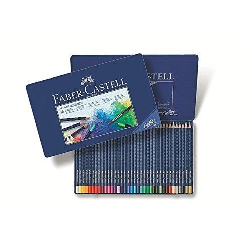 Faber-Castell Art GRIP Aquarelle Watercolor Pencils, tin of 36 Colors  Finest Artists Quality Professional Pencils Artist