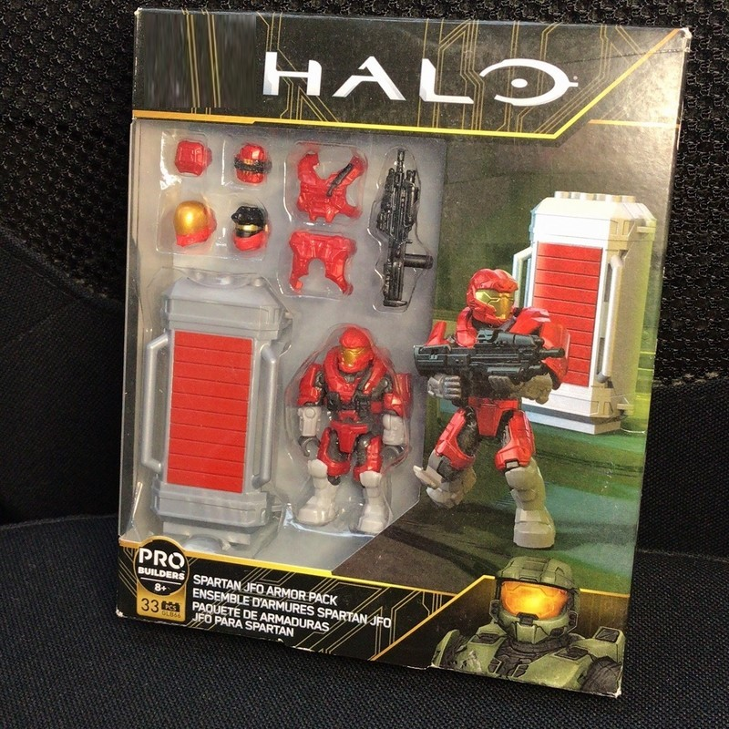 HALO  SPARTAN JFO ARMOR PACK GLB66  Toy Building Blocks