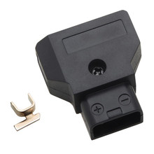 Male D-Tap Plug Connector For DSLR Rig Power Cable V-mount Anton Battery Black(China)