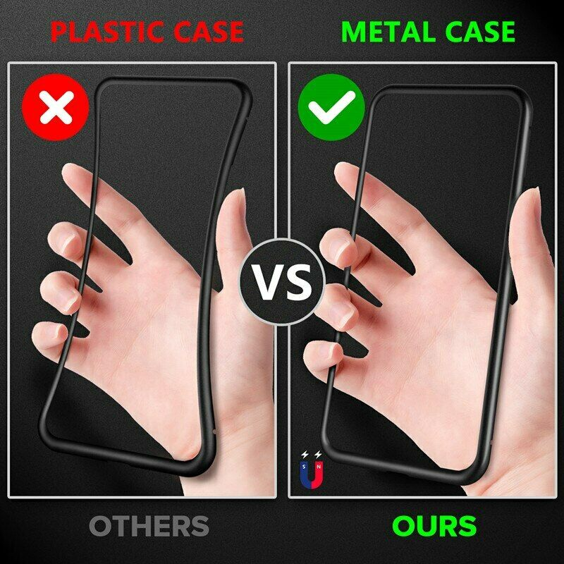 Anti Peep Tempered Glass Phone Case