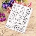 Горячая продажа Cat life предложения прозрачный штамп/силиконовый валик для запечатывания штамп DIY альбом для скрапбукинга/производство карт