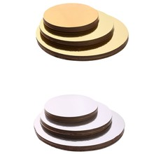 Cake Boards Set of 18 Cake Circle Bases 6 Inches, 8 Inches, and 10 Inches 6 of Each(China)