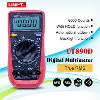 UNI-T UT890D Digital Multimeter True RMS  AC/DC frequency multimeter Ammeter Multitester+Gift