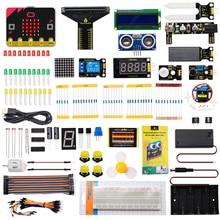 Keyestudio Microbit V2 Basic Starter Kit Diy Electronic Kit for BBC Micro:bit STEM Programming