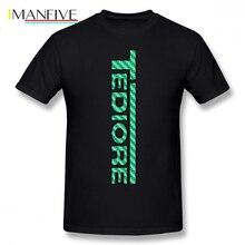 Borderlands T Shirt Tediore Carbon Logo T-Shirt 100 Percent Cotton Print Tee Short Sleeves Man Summer Funny Tshirt