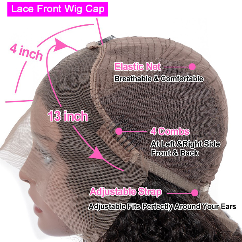 13X4 Lace Front Wig  Straight Highlight Wig  Wigs Pre Pluck With Baby Hair Ombre  Wig 6