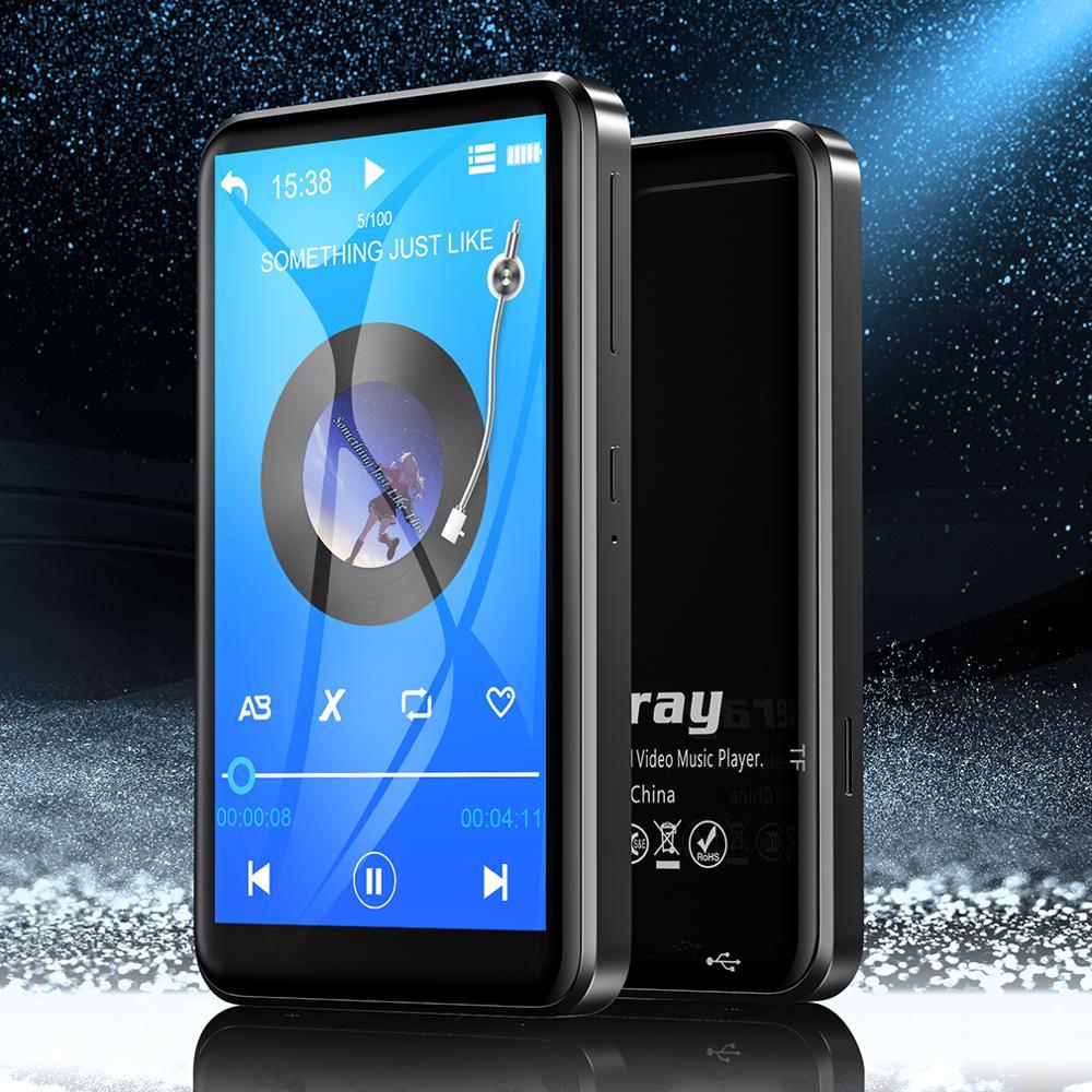 Mp3-Player Speaker Walkman-Radio Audio-Recording Hi-Res Touch-Screen Hifi Bluetooth Portable