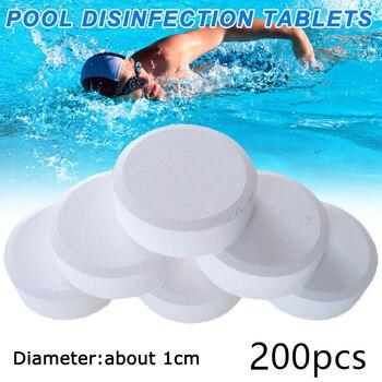 Chlore Comprimés multifonctions, désinfection instantanée, pour piscine, baignoire, Spa, Spray Effervescent, 100/200/500 pièces 1