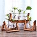 나무 꽃병 유리 꽃병 수경 식물 꽃병 분재 테라리움 테이블 바탕 화면 분재 꽃 냄비 매달려 냄비 홈 장식 florarium