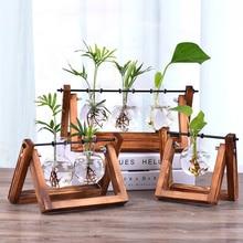 Wood Vase Glass Vase…