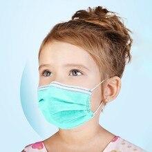 10pcs/20pcs/50pcs100pcs Disposable 3-Ply Masks Anti-Dust Face Mask With Elastic Earloop Kids Ear loop Face Surgical Masks