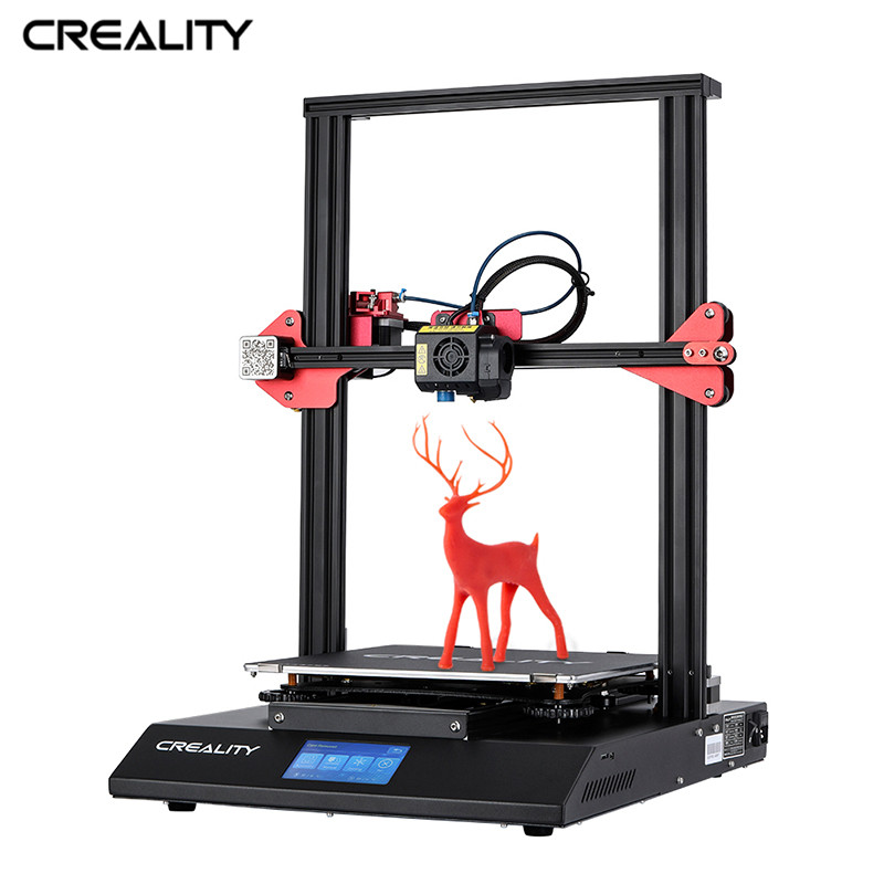 Crealité CR-10S Pro 3D imprimante 4.3 pouces écran tactile Double Extrusion reprendre impression Filament détection nivellement automatique