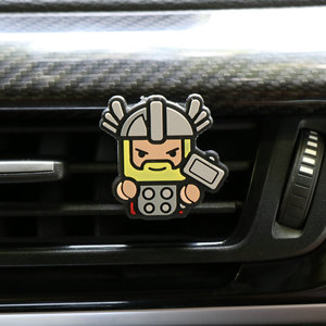 Image 5 - Cartoon Air Freshener Perfume Car Diffuser Smell Car Interior Accessories Air Condition Vent Outlet Fashion Cool