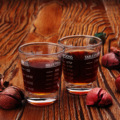 2 шт. 30 мл эспрессо унций чашки с мерный утолщенной Oz Стекло выпечки двойной дозатор Кофе прозрачный мерный стаканчик