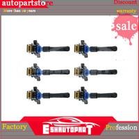 6x Ignition Coils for BMW E39 E46 E53 3, 5, 7 Series, X3, X5 Fast Shipment 12131703227