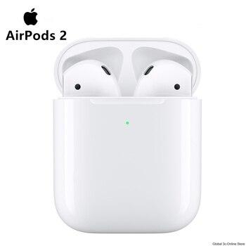 Los AirPods de Apple 2nd auriculares Bluetooth con funda de carga inalámbrica para iPhone iPad MacBook Apple iPod reloj