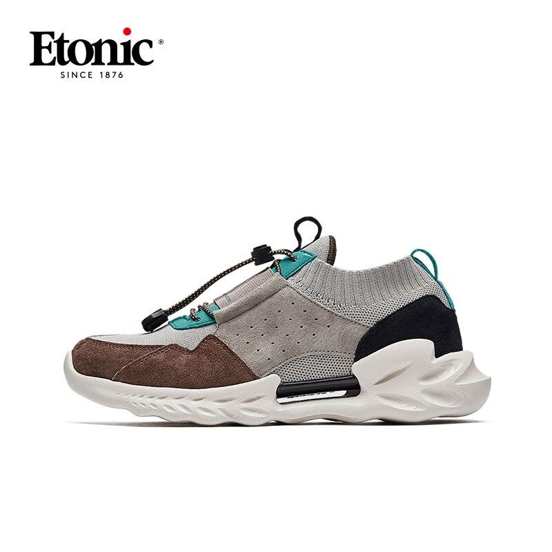 ETONIC  Running Scarpe In Vera Pelle Traspirante Scarpe Sportive Da Uomo