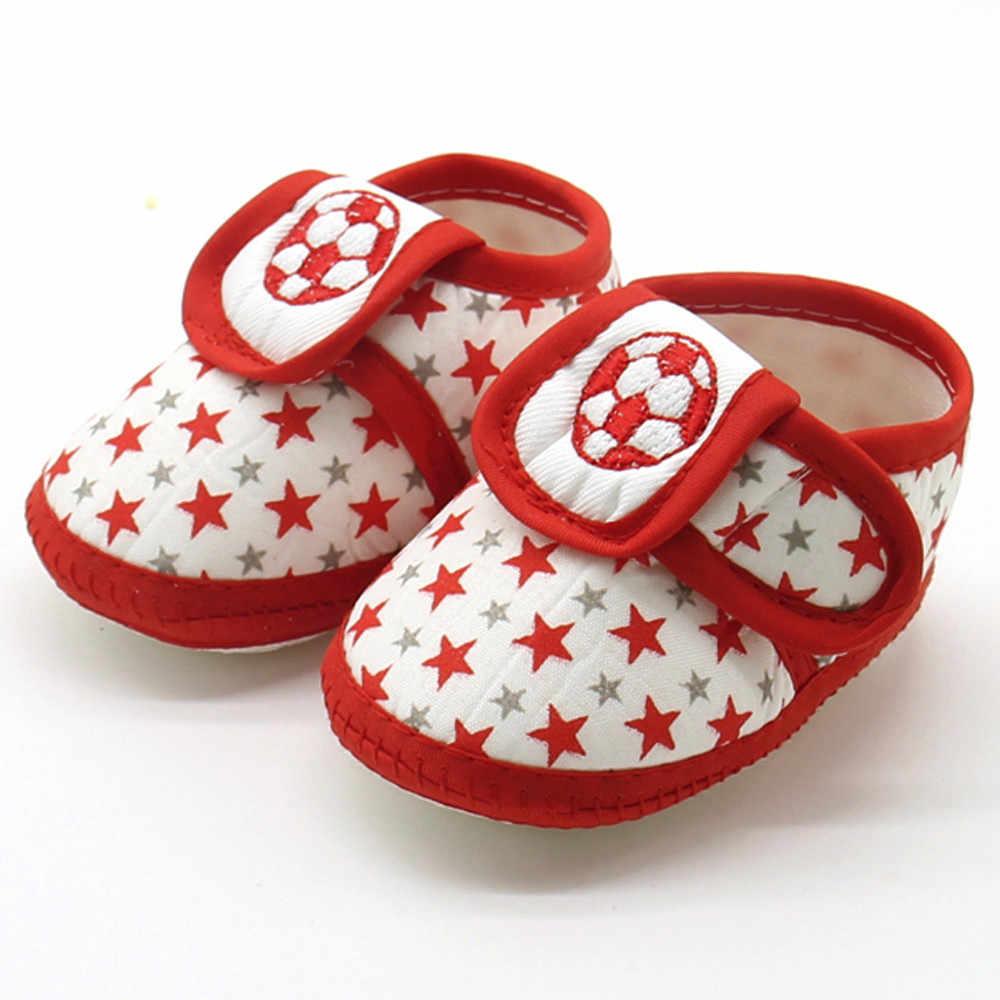 Mode Pasgeboren Baby Baby Ster Meisjes Jongens schoenen Zachte Zool Prewalker Warm Casual Flats Schoenen hot koop
