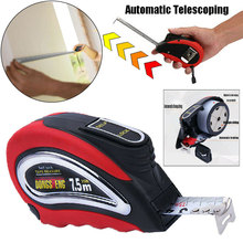 Inch Metric Tools Portable Work Roll Self Lock Retractable Woodworking Measurement Automatic Wrist Strap Steel Tape Measure