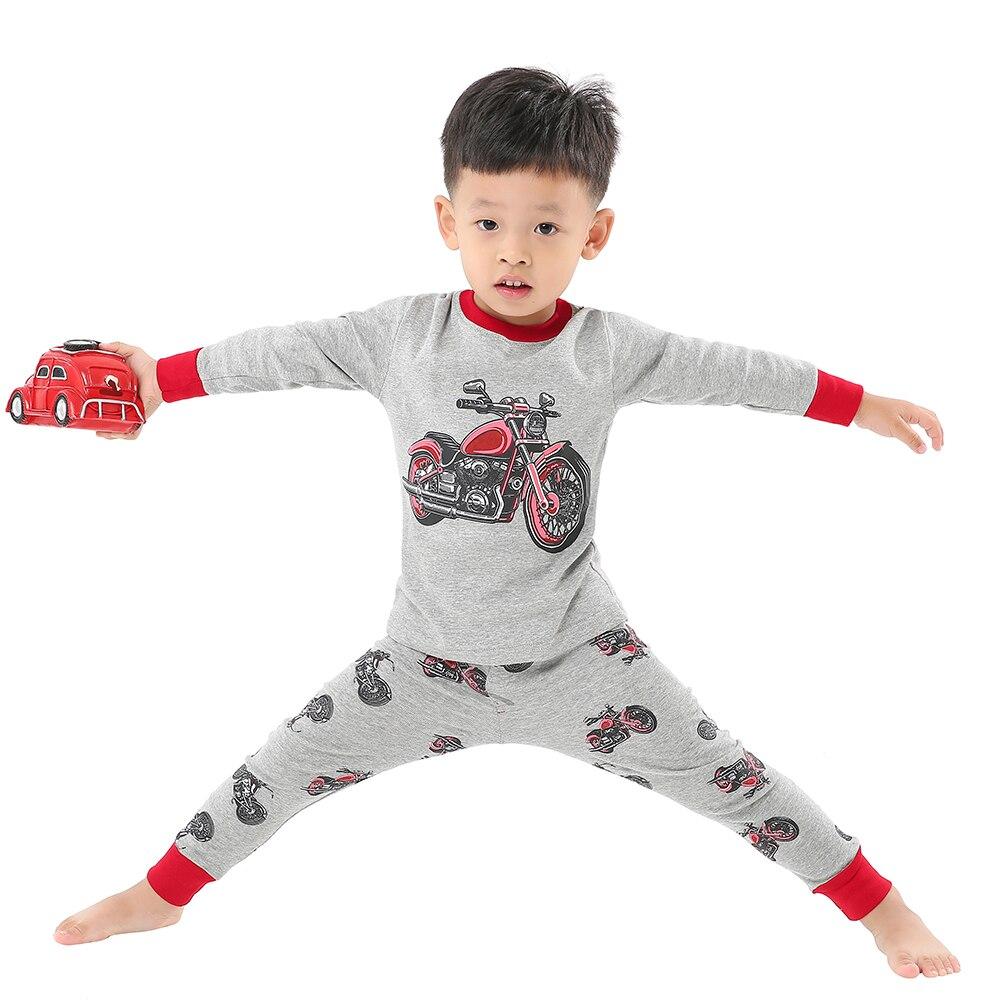 100 Cotton Full Sleeve Cotton Boys Sleepwear Kids Airplane Pyjamas Children Baby Girls Pajamas Pijama Unicornio Infantil Pijamas 6