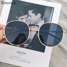 2020 Vintage Polarized Round Steampunk Sunglasses Men Women Retro Gothic Goggles Sun Glasses Metal Frame Mirror Shades