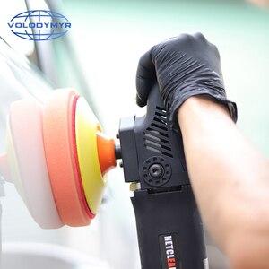 Image 5 - Rotante Piastra di Supporto Gancio e Anello di 5 Pollici con M14 o M16 Filo per Auto Lucidatrice Macchina di Lucidatura Tamponi Per Lucidatura pad polacco