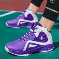 Novos sapatos de basquete dos homens meninos botas de basquete luz alta tornozelo zapatillas baloncesto ao ar livre mais tamanho dos tênis