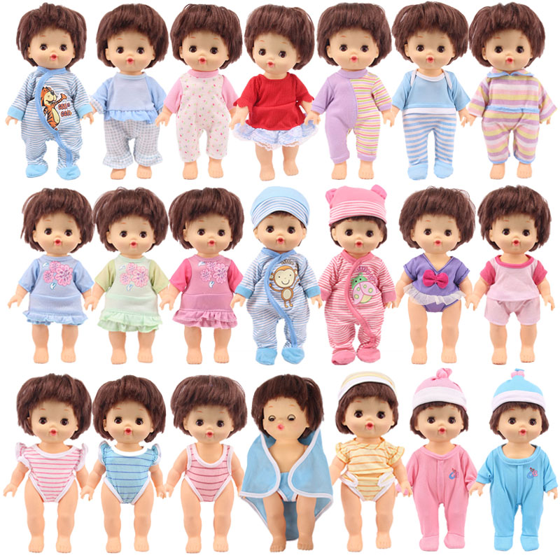 25cm Doll Girl Clothes Dress Doll Accessories Kids Gifts for MellChan Dolls