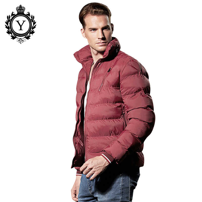 COUTUDI מפעל סיטונאי חורף מעיל גברים של קצר חם בגדי צווארון עומד זכר Parka מעילי מוצק אוקראינה סגנון איש מעילים