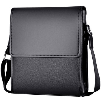 New Arrival Business Men Messenger Bags vintage Leather Crossbody Shoulder Bag for male brand Casual Man Handbags Fashion bags bullcaptain new men bag genuine leather man brand crossbody shoulder bag small business bags male messenger leather bags