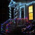 10-50 м светодиодный светильник s гирлянда открытый Рождественский светильник s светодиодный праздничный светильник ing украшение капля Сказо...