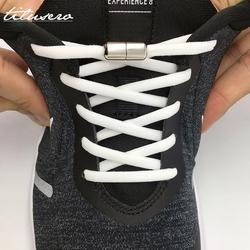 Эластичные шнурки без завязок полукруглые шнурки для обуви для детей и взрослых кроссовки шнурки быстросохнущие Ботинки со шнурками