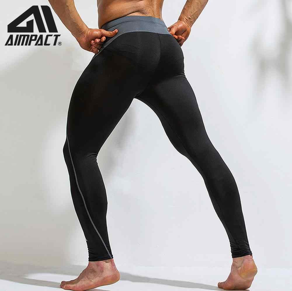 Sportowe spodnie kompresji spodnie męskie sportowe do biegania Fitness obcisłe spodnie i spódnice szkolenia kulturystyka trening siłownia Yogo legginsy szybkie AM5119
