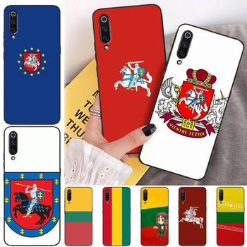 Lithuania Latvia Flag Phone Case Coque Fundas Etui For Xiaomi Note Max Mi 3 7 8 9se Redmi 7 7a 8 8t 10 Pro Lite Cases Cover image