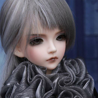 1/4 BJD Dolls Male Makeup Dolls With Eyes And Full Clothes 3D DIY Toy Hobby Collection Pink Skin