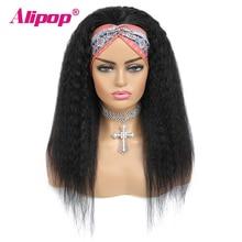 Alipop #4 אור חום מלזי ישר פאה 13x4 תחרה מול שיער טבעי פאות עם תינוק שיער תחרה מול פאת NonRemy