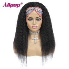 Alipop #4 Açık Kahverengi Malezya Düz Peruk 13x4 Dantel Ön İnsan Saç Peruk Bebek Saç Ile Dantel ön peruk NonRemy