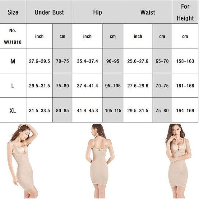 Women Control Slips Women's Underwear Petticoat Under Shaper Dress Intimates Combination Petticoat Sexy Lingerie Shapewear 5