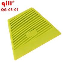 100pcs/lot QG-05 soft High temperatur POM wrap tool mini window tint film installing hard squeegee tools film scraper tool