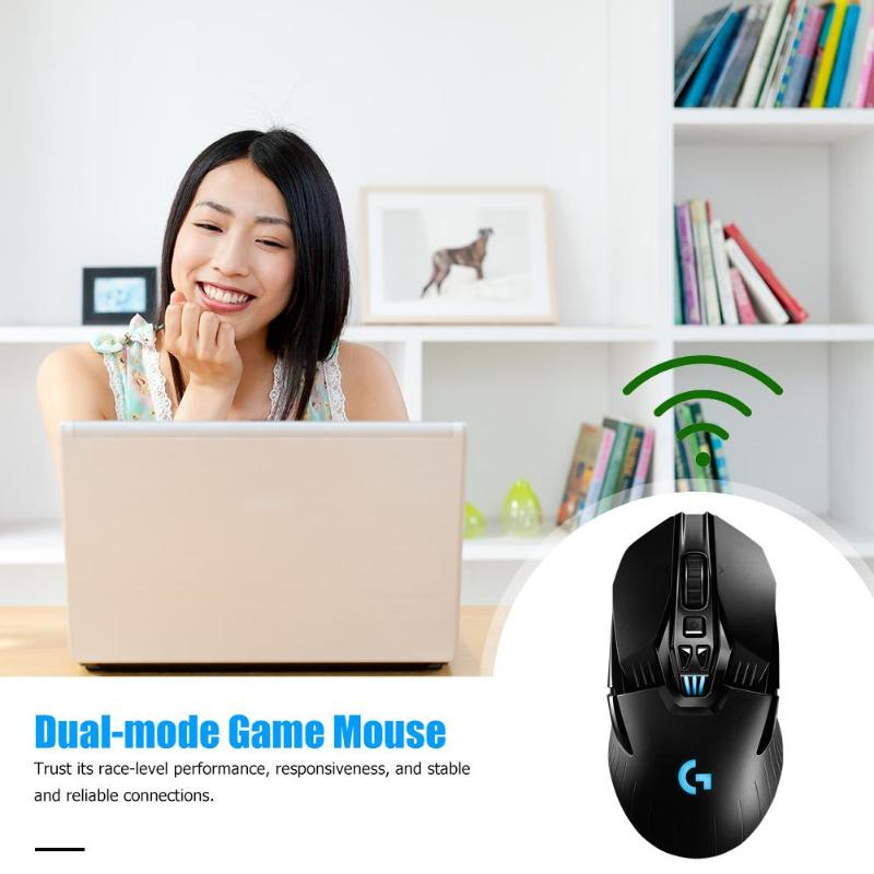 Logitech G903 LIGHTSPEED USB Wireless 16000DPI Einstellbar Gaming Maus HERO 16K Sensor Dual Modus 11 Tasten Optische Mäuse - 5