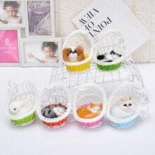 Производители прямые продажи корзина для игрушек zi gato negro ПЭТ серии Художественный орнамент модель животного меха украшением в виде мягкой игрушки кролика