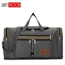 Большая вместительная модная дорожная сумка для мужчин и женщин, сумка для выходных, Большая вместительная нейлоновая переносная дорожная сумка для переноски багажа XA156K