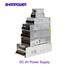 цена на AC DC Switching Power Supply AC 110V/220V to DC 5V 2A 10A 20A 30A 40A 60A 10W 50W 100W 150W 200W 300W LED display power adapter