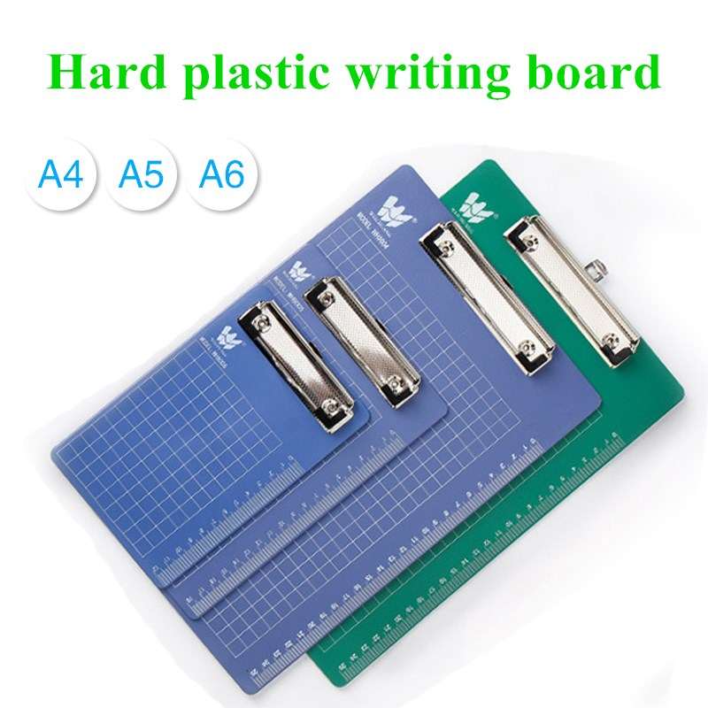 File Board A4 Cardboard Clip Hanging Writing Pad Bill Note  Hanging Point Menu Plastic Writing Board Clip