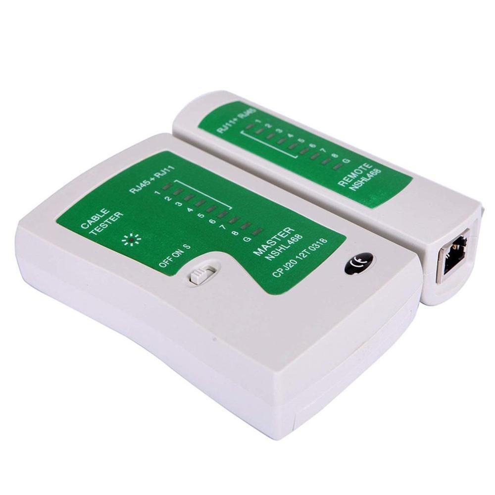 Network Lan Cable Tester Test Rj45 Rj-11 Cat5 Utp Ethernet Tool Cat5 6 E Rj11 8P Portable Network Cable Tester 4