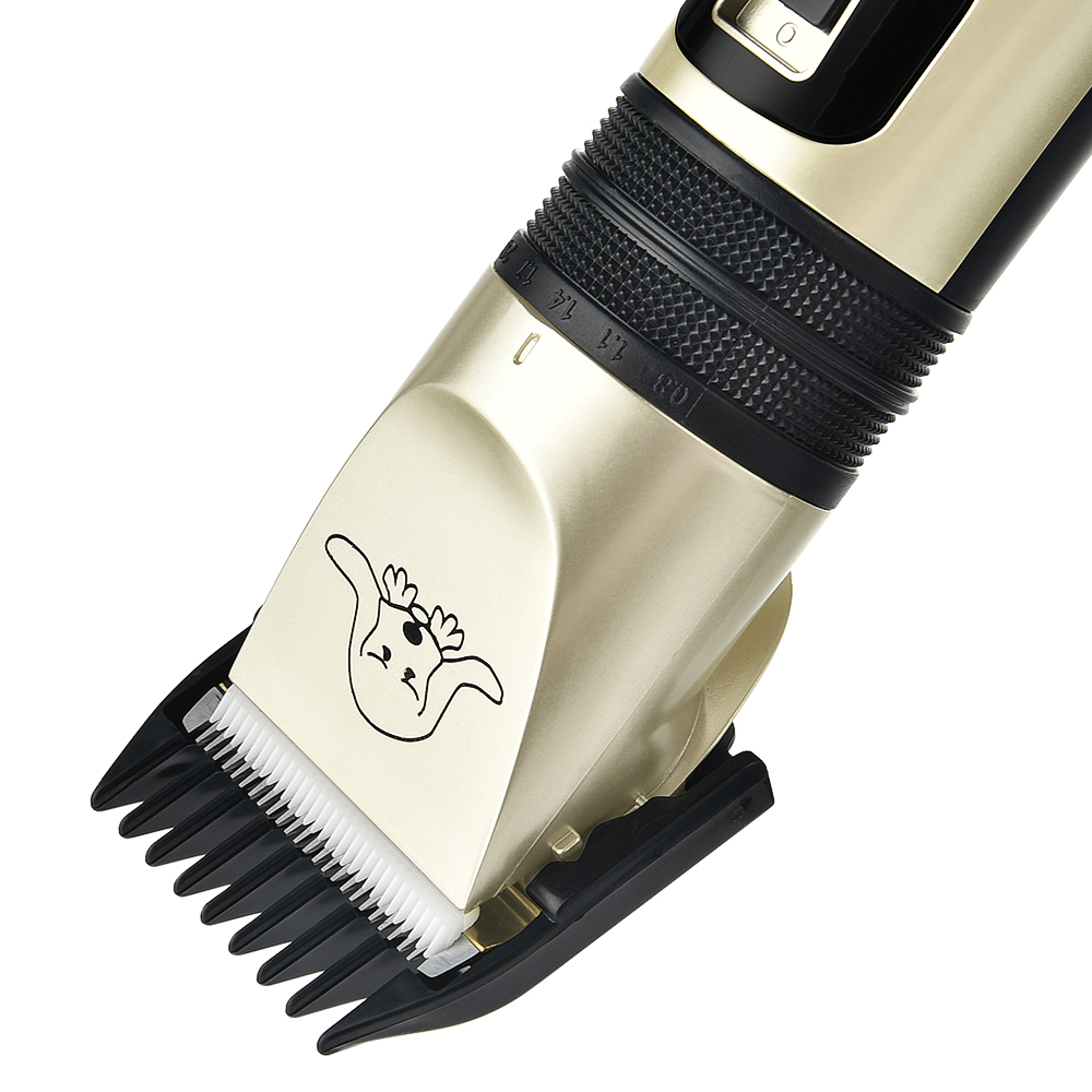 Powerful Cordless Rechargeable Low Noise Pet Grooming Trimmer 8