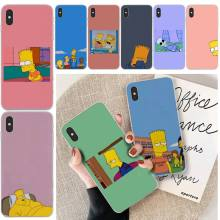 Wumeiyuan Anime simpson Customer High Quality Phone Case For iphone 6 6s plus 7 8 plus X XS XR XS MAX 11 11 pro 11 Pro Max Cover byloving gintama anime customer high quality phone case for iphone 6 6s plus 7 8 plus x xs xr xs max 11 11 pro 11 pro max cover