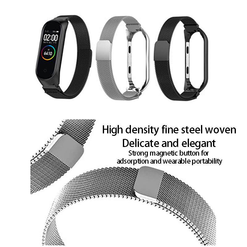 Watch-Wrist-Strap Watchband Replacement Steel Metal Xiaomi Hot for Screwless
