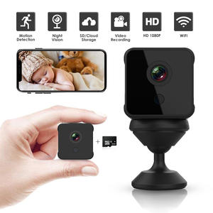Baby Monitor Ip-Camera Cam-Recorder Alarm Wifi Motion-Detection Night-Vision Mini Home-Surveillance