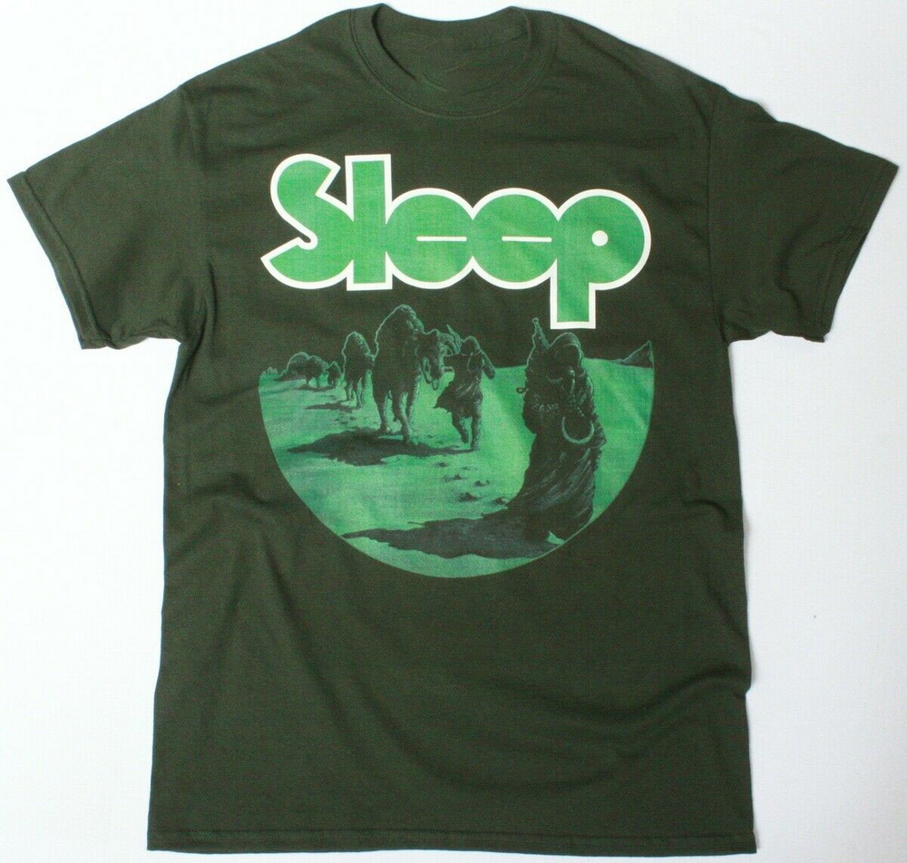 SLEEP DOPESMOKER LOGO BLACK T SHIRT DOOM METAL STONER ROCK
